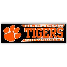 Stockdale Clemson University Tigers Window Decal Mr Knickerbocker