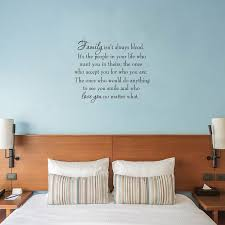Winston Porter Griffing Family Isn T Always Blood Wall Decal Reviews Wayfair