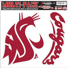 Washington State University Car Decals Decal Sets Washington State Cougars Car Decal C Pac 12 Official Online Store