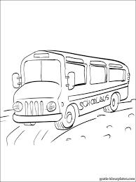 Kleurplaten Bus Gratis Kleurplaten