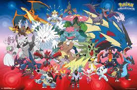 Amazon.com: Trends International Pokemon Mega Evolutions Wall ...