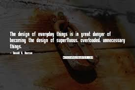 donald a norman quotes the design of everyday things is in great
