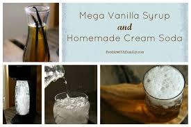 mega vanilla syrup make your own soda