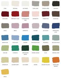 annie sloan chalk paint colors 2020