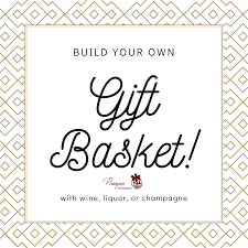 build your own basket with wine