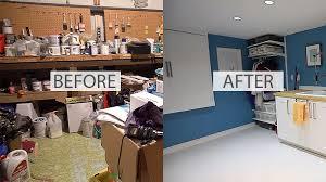 concrete basement floor with paint