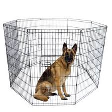 Pet Fences For Small Medium Large Dogs 42 Tall Wire Fence Dog Playpen For Backyard Wr Ch3635w1 Black Folding Pet Fence 8 Panel Metal For Puppy Walmart Com Walmart Com