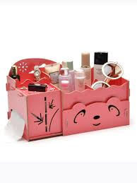 diy cute panda design drawer storage