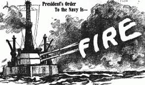 Image result for The U.S. declared war on Germany on April 6, 1917.
