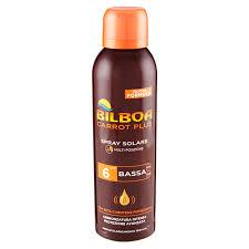 Bilboa Carrot Plus Spray Solare Multi-Posizione SPF 6 Bassa 150 ml ...