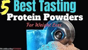 best tasting vanilla protein powders