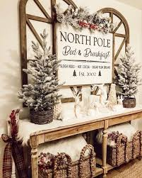 North Pole Bed Breakfast Farmhouse Style Rustic Etsy Christmas Signs Wood Farmhouse Christmas Decor Christmas Home