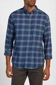 faherty signature washed twill shirt