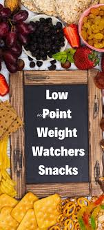 low smartpoints weight watchers snacks
