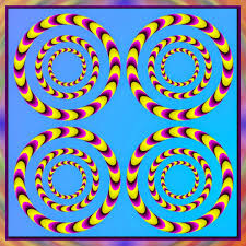 trippy optical illusions that appear to