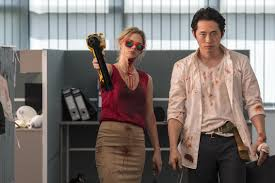 After 7 Seasons of 'The Walking Dead,' Steven Yeun Picks His Roles One  Message at a Time