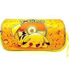 qoo10 anime pokemon pencil case bag
