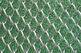 Wall Cladding Decorative Mesh Architectural Wire Chain Link Woven Or Special Knitted