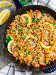 Baked Shrimp Scampi with Bread Crumbs