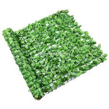Green Artificial Ivy Leaf Fence Roll For Outdoor Use Buy Artificial Ivy Roll Artificial Garden Roll For Ourdoor Use Decorative Garden Fence Product On Alibaba Com