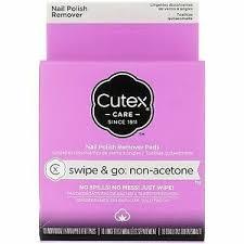 2 pack cutex swipe go non acetone