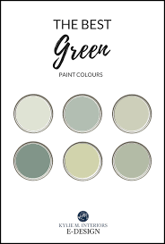 benjamin moore green paint colours
