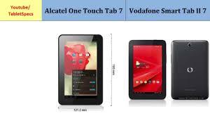 Touch Tab 7 & Vodafone Smart Tab II ...