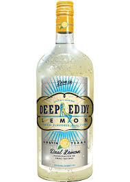 buffalo liquor deep eddy vodka lemon 1 75l