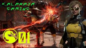 Mortal kombat 11 part#1 Hindi Story Gameplay Sexy girl Cassie Cage🤩 -  YouTube