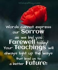 farewell messages heartfelt farewell wishes wishesmsg