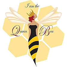 Amazon Com Ngk Trading I Am The Queen Bee Vinyl Decal Bumper Sticker Wall Laptop Window Sticker 5 Kitchen Dining