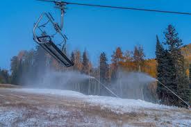 purgatory resort starts making snow