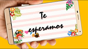 Fiesta Tropical Video Tarjeta Invitacion Cumpleanos Whatsapp