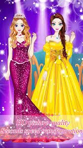 princess dress up games on the app