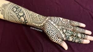 mehndi design bridal simple and easy
