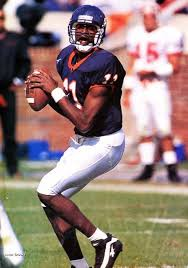 Aaron Brooks (With images) | College football uniforms, Uva sports ...