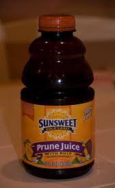 canned prune juice properties of