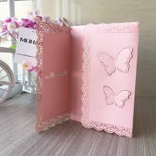 30 Unids Gratis Para Imprimir Mariposa Laser Cut Invitaciones De
