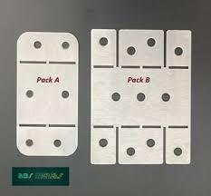 Stainless Steel Garden Fence Panel Security Bracket Self Folding Ebay