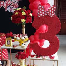 Fiesta De Minnie Mouse Roja Guia Para Su Decoracion