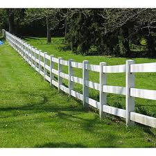 Chinawhite 3 Rail Vinyl Horse Fence Post And Rail Fence Panel Uv Resistance On Global Sources