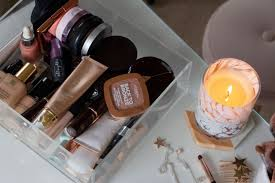 my updated makeup collection storage