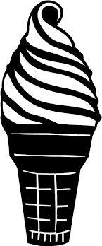 Ice Cream Cone Car Or Truck Window Decal Sticker Or Wall Art Decalsrock