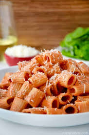 quick and easy vodka pasta sauce just