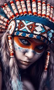 native american woman artwork hd