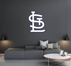 Saint Louis Cardinals Logo Wall Decal Egraphicstore