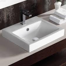 inset bathroom sinks basin sink unit