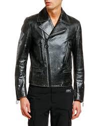 arrow vintage leather biker jacket
