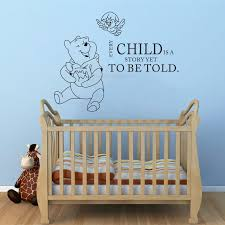Wall Decals Quotes Winnie The Pooh Quote Vinyl Sticker Nursery Room Bedroom Decal Baby Boy Girl Home Decor Art Murals Wall Decals Quotes Decoration Artwall Decals Aliexpress