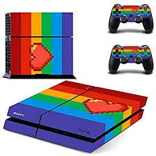 Rainbow Gaystation Sticker Decal Skin For Playstation 4 Ps4 Console Controller Dostcwly 92